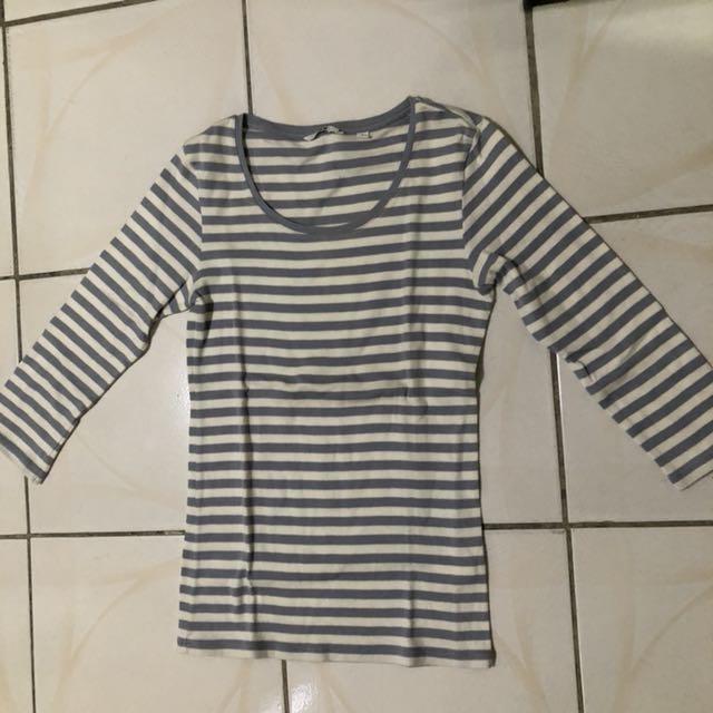 Uniqlo Cotton 3/4 shirt