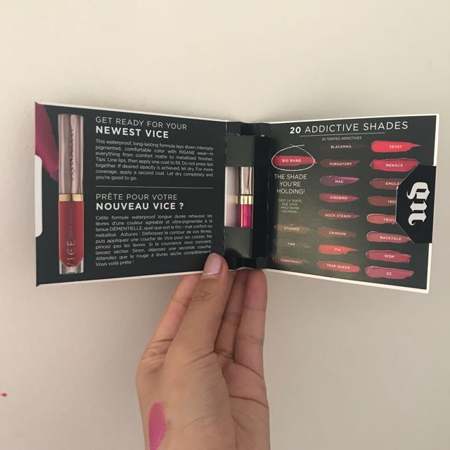 [Urban Decay] Mini Vice Liquid Lipstick - Big Bang