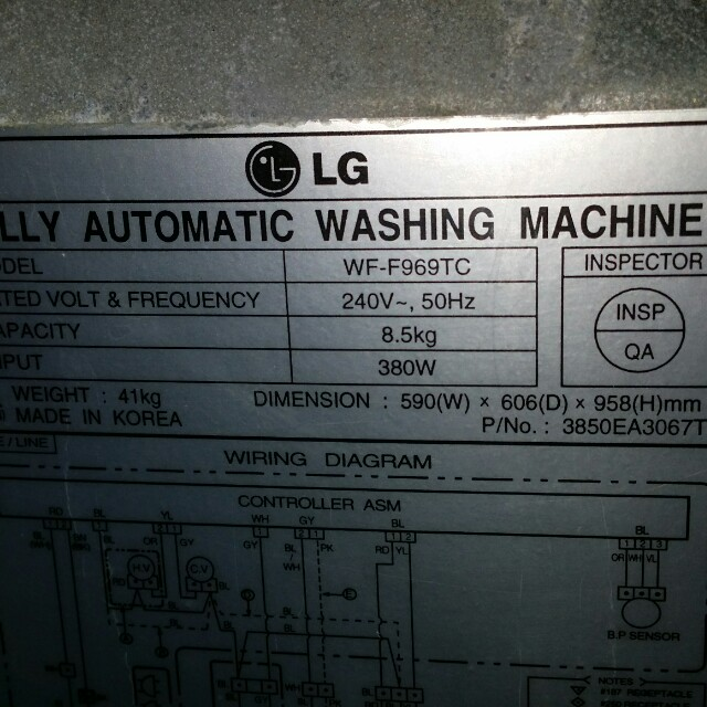 Fully automatic washing machine wiring diagram wiring diagrams used lg washer 8 5kg washing machine mesin basuh fully auto audio system wiring diagram wiring asfbconference2016 Image collections