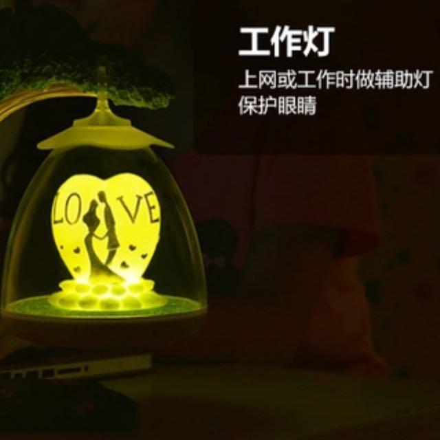 Valentine Bedside Lamp