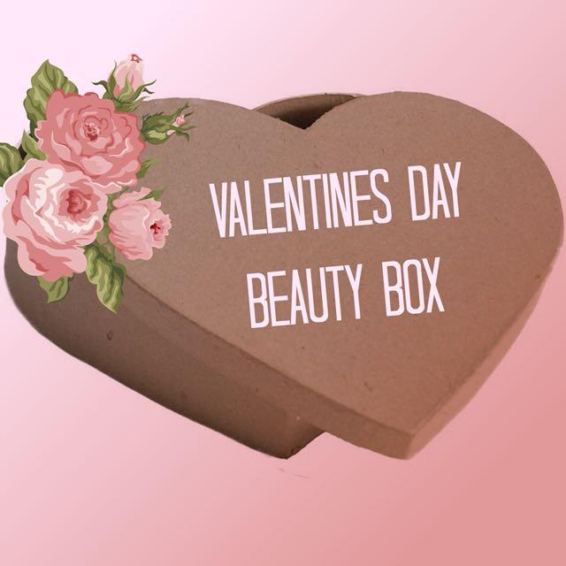 VALENTINES DAY BEAUTY BOX