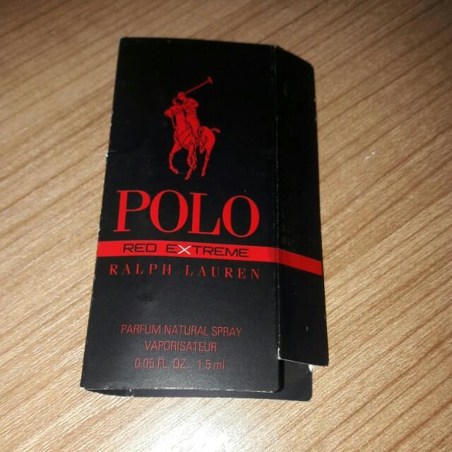 Vial Parfum Ralph Lauren Polo Red Extreme 1,5ml