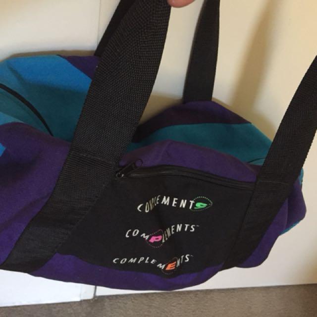 Vintage Duffle Bag