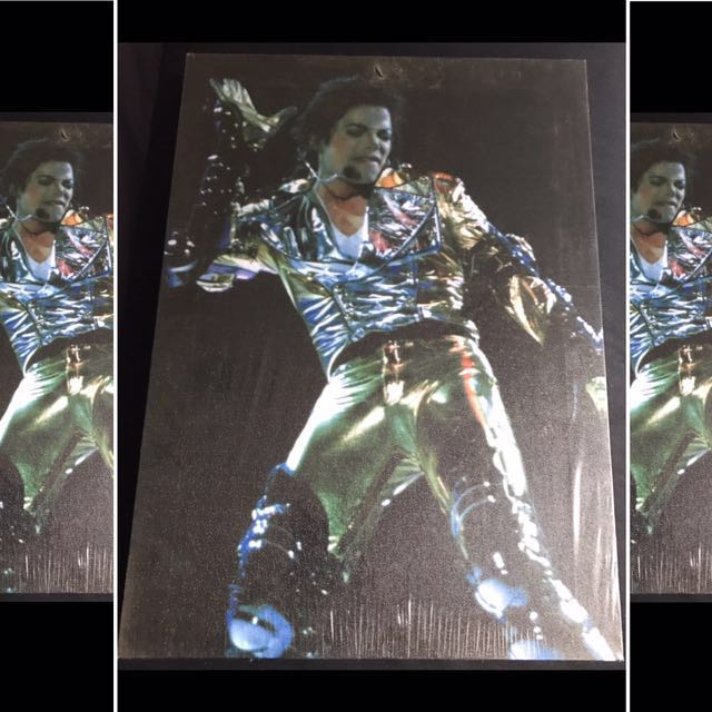 Vintage Retro Style Michael Jackson Canvas Poster
