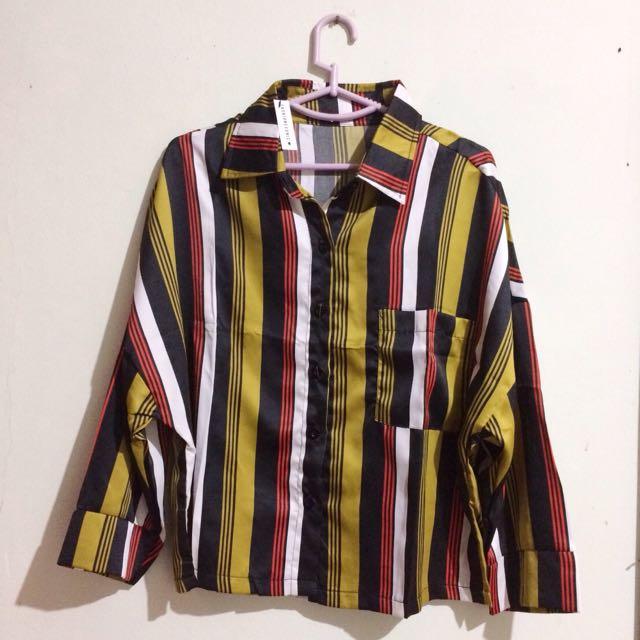 Vintage Top Stripe