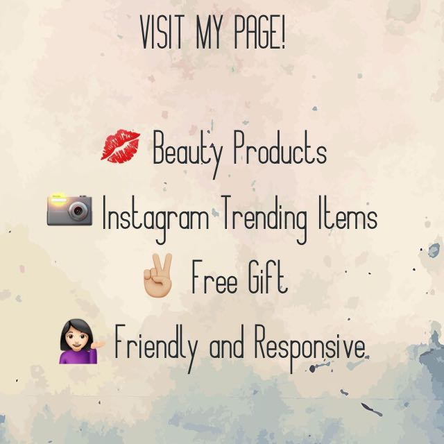 Visit my page ladies 🙋🏻