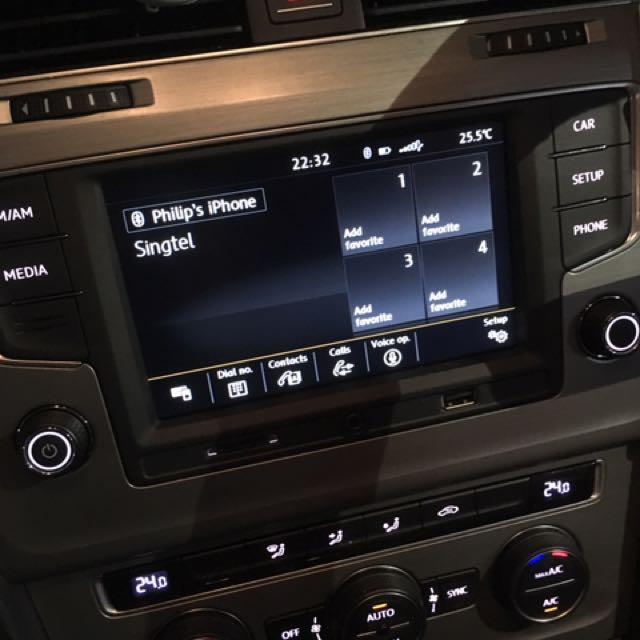 Volkswagen MK7 MIB2 CarPlay