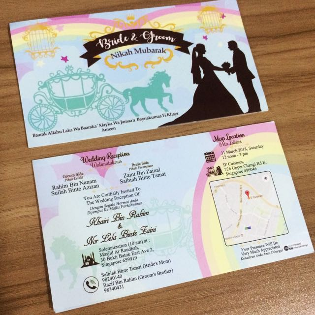 Wedding card singapore jb home services others on carousell photo photo photo photo photo stopboris Choice Image