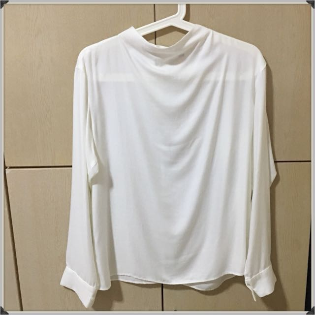 eae898546d Women Rayon Long Sleeve Blouse, Women's Fashion, Clothes, Tops on ...