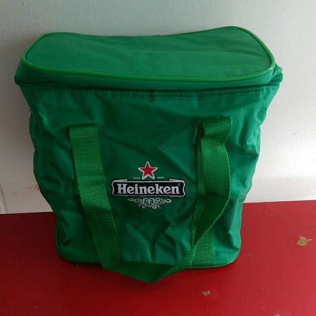 WTS Heineken Cooler Bag For Alcohol Or Ice Cream