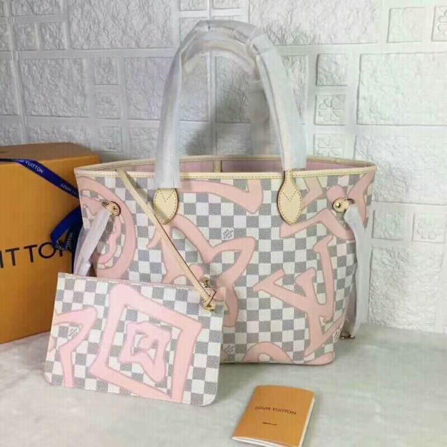 YC- Authentic! Louis Vuitton Damier Azur