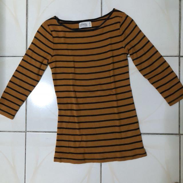 Zara 3/4 Cotton Shirt