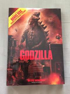 Godzilla DVD - New, sealed & unopened