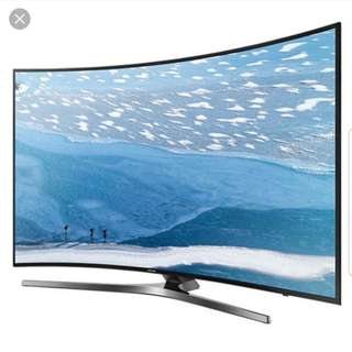 Samsung Curved 55 inches 4K UHD Resolution Smart Digitally Ready LED TV!! Best Price!!!