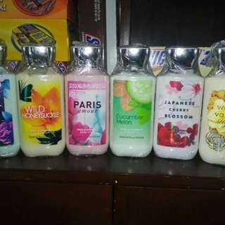 BATH AND BODY WORKS body lotion