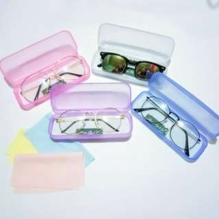 Transparent Hard Cases for eyeglasses