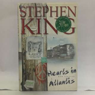 Hearts in Atlantis by Stephen King (hardbound)