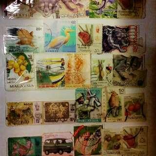Stamp Negaraku