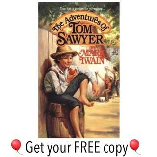 #FREE Ebook The Adventures of Tom Sawyer by Mark Twain