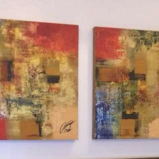 2x2 Ivan Acuna Paintings 2017