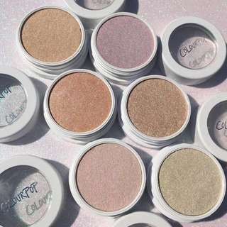 Instock Colourpop Super Shock Cheek Highlighters