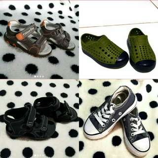Take All 4 Footwear for only 800 pesos!!