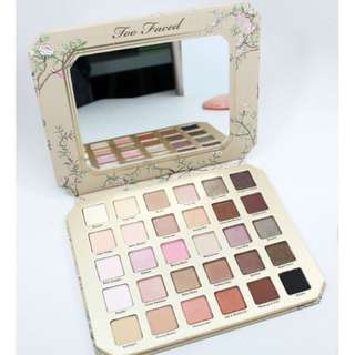 🚚 Too FACED NATURAL LOVE EYESHADOW30色眼影盤