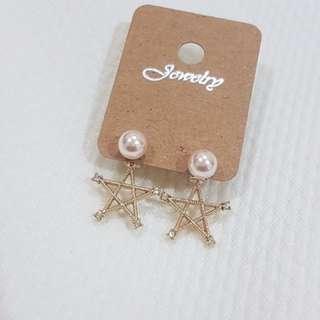 🚚 🎉現貨🎉正韓珍珠星星耳環