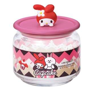 Line Friends My Melody 玻璃瓶