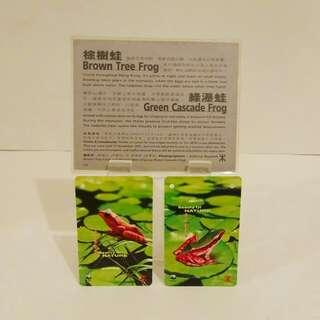 1995年,自然姿采集地鐵纪念票和說明書套 (收藏品)