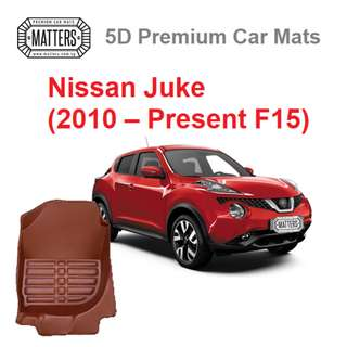 MATTERS 5D Premium PU Leather Car Mats For Nissan Juke (2010 – Present F15) Qoo10 Official Store