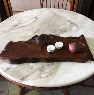 Chengai wood tea tray