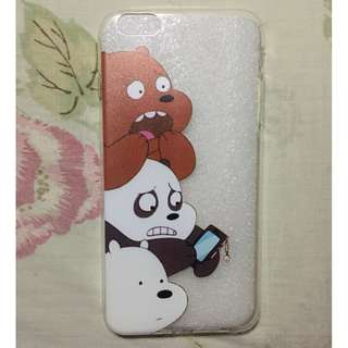 We bare bears case for iphone 6+/6s+