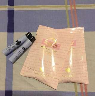 Guerlain & Lanvin parfum sample