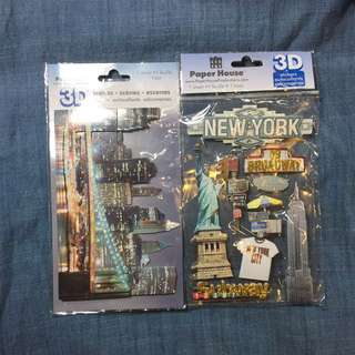 Scrapbooking stickers NY
