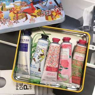 L'Occitane hand cream set
