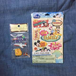 scrapbooking pop up mickey mouse travel