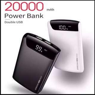 JOYROOM 20000mAh Fast Charge Power Bank Dual USB iPhone X