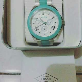 Fossil AM4636 - Silver Green