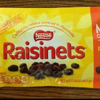 Nestle Raisinets Milk Chocolate Limited Stocks