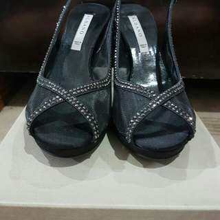 Albano Italy Black Shoes