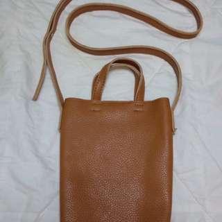 Leather Bag #MoveOn