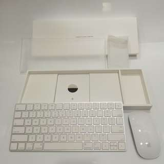 Apple Official Magic Keyboard 2 + Magic Mouse 2 box set 第二代