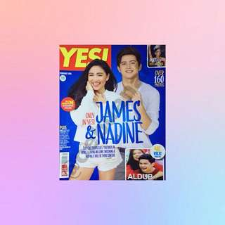 JaDine: YES! MAGAZINE
