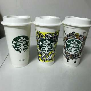 Starbucks Coffee Reusable Cups