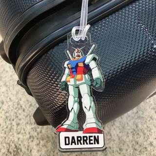 Custom Personalised Bag Tag - Robot