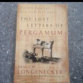 Special Offer: The Lost Letters Of Pergamum (A Story From The New Testament World) By Bruce Longenecker
