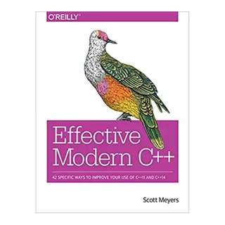 Effective Modern C++: 42 Specific Ways to Improve Your Use of C++11 and C++14 1st Edition, Kindle Edition by Scott Meyers  (Author)