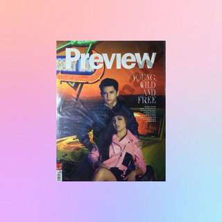 JaDine: PREVIEW MAGAZINE (Second Cover)