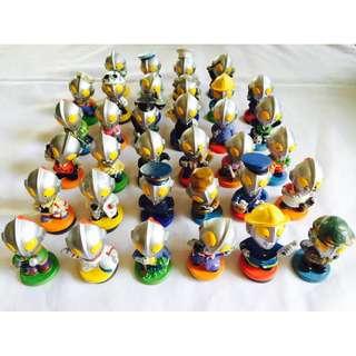 Ultraman Mini Figures Collection